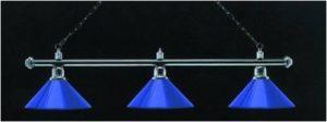 billardlampe blau